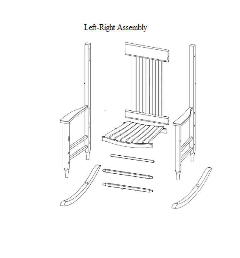 left-right assembly